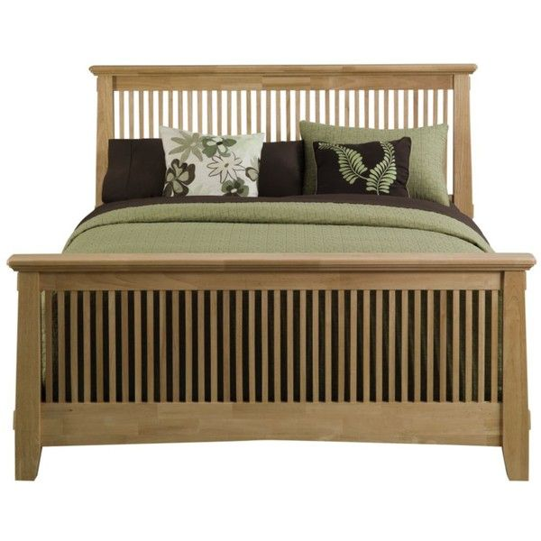 Arts & Crafts Natural Bed - American Signature Furniture ...