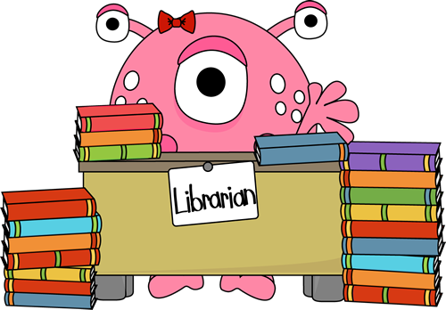 Monster Librarian Clip Art Monster Librarian Image Monster Quilt Clip Art Cute Monsters