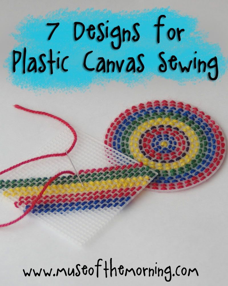 7 Designs For Sewing On Plastic Canvas Round Up With Muse Of The Morning Plastic Canvas Stitches Plastic Canvas Patterns Plastic Canvas Ornaments