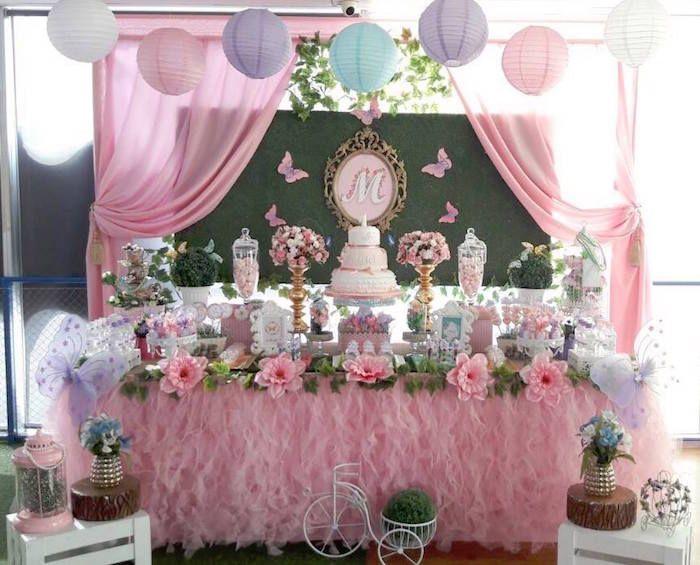 Beautiful Butterfly Birthday Party On Karas Ideas