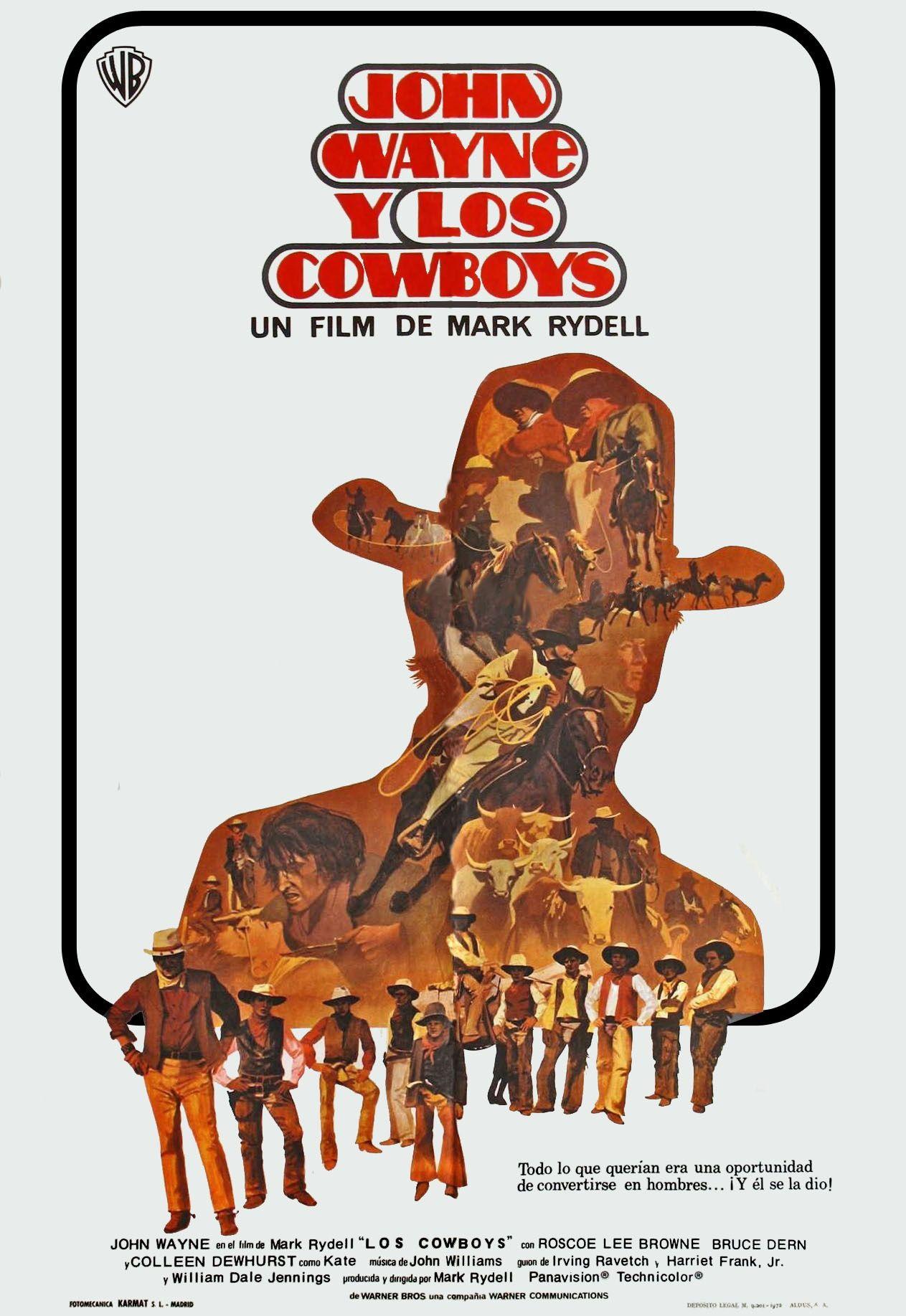 John Wayne y los Cowboys - The Cowboys