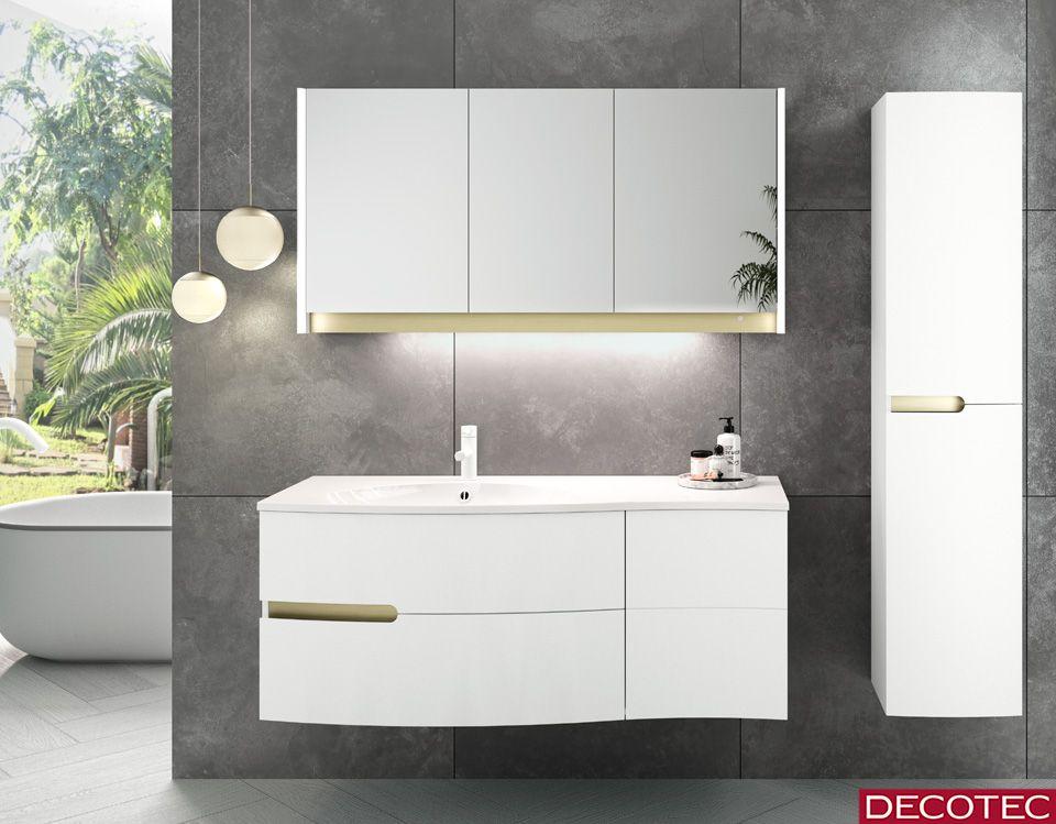 La Societe Decotec Vous Presente Le Modele Egerie Disponible Dans Les Prochains Jours Cette Creatio Meuble Vasque Armoire De Toilette Meuble De Salle De Bain