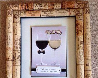 wine cork frame - Wine Cork Picture Frame