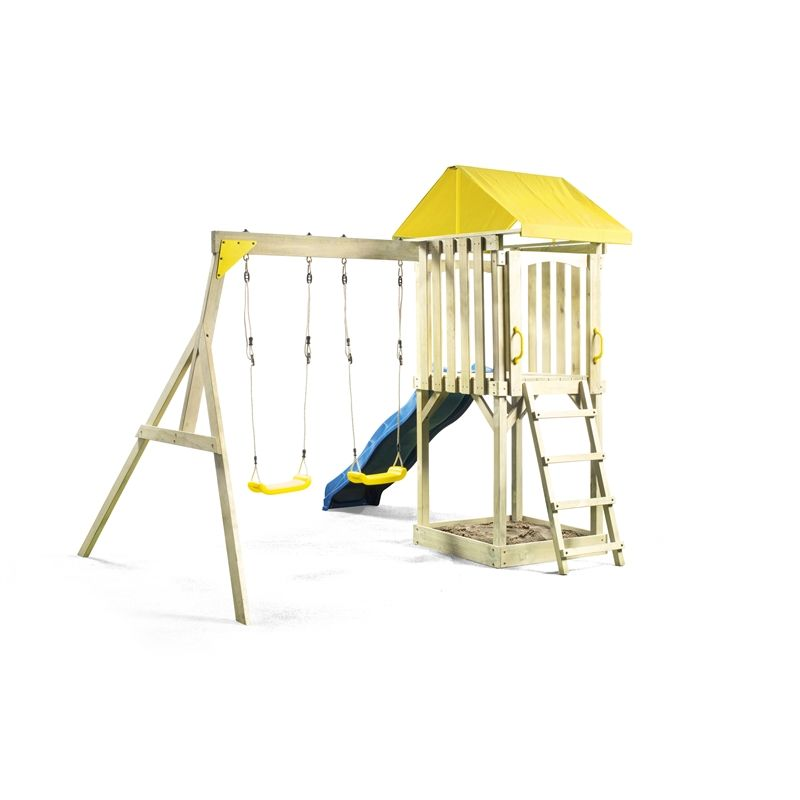 Find Swing Slide Climb 5 1 X 2 5m Hotham Playground Set At Bunnings Warehouse Visit Your Local For The Widest Range Of Outdoor Living Products