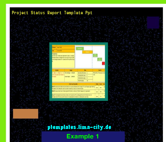 Project status report template ppt powerpoint templates 13375 project status report template ppt powerpoint templates 13375 the best image search toneelgroepblik Image collections