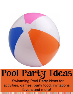 pool party theme birthday party ideas for kids swimming pool
