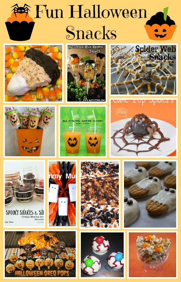 13 Fun Halloween Snacks If you\u0027re having a Halloween party, or just - fun halloween party ideas