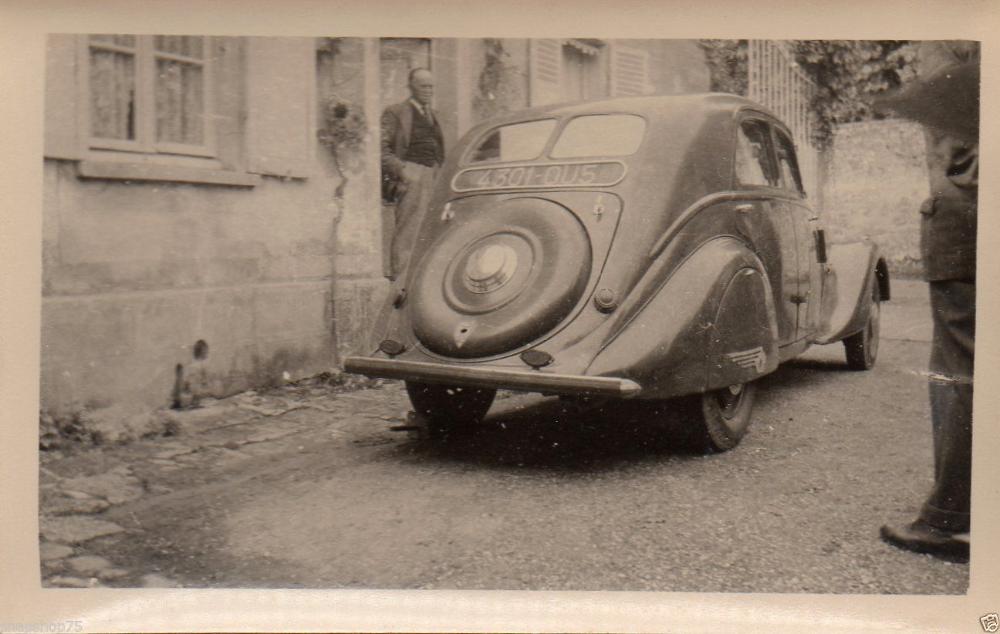 Ab378 Photo Car Voiture Automobile Vers 1940 Ebay Voiture Automobile Cabriolet