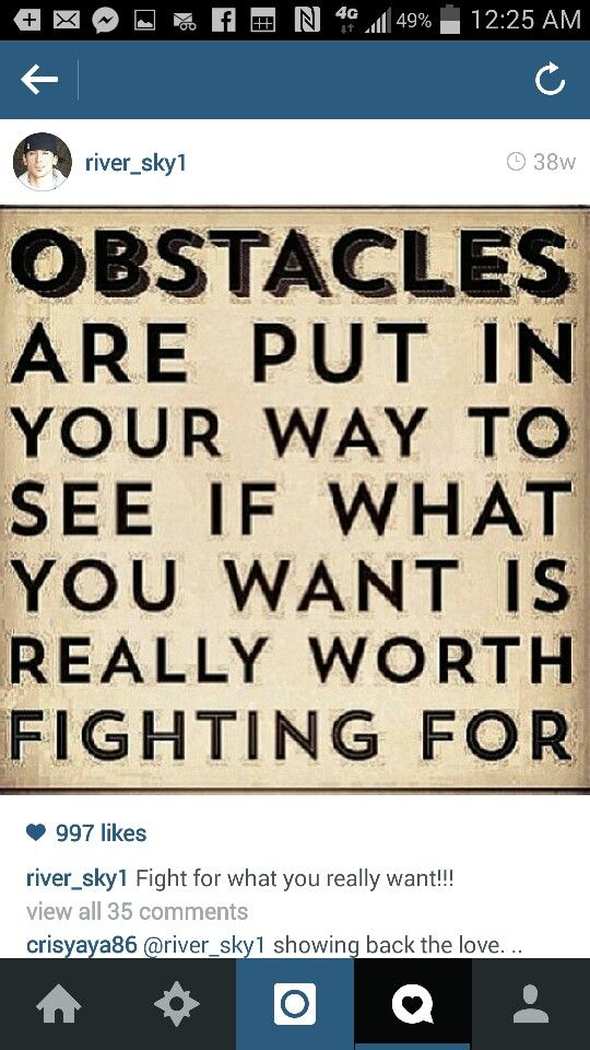 Obstacles, path, fight