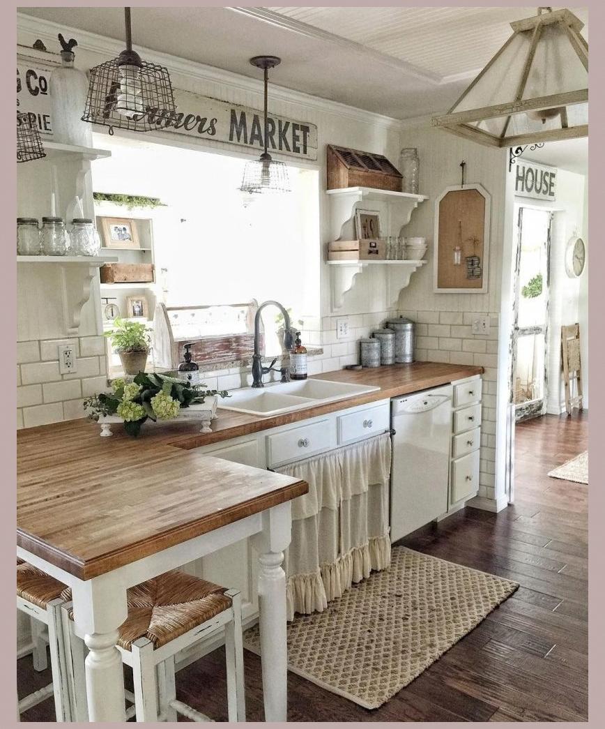 4 Epic Ideas for Your Kitchen Design #vintagehome #countrykitchenideas