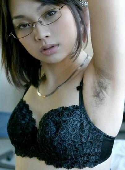 Asian hairy picture