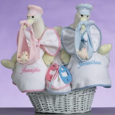 Stork twin basket 14000 personalized baby gifts pinterest stork twin basket 14000 baby gift negle Gallery