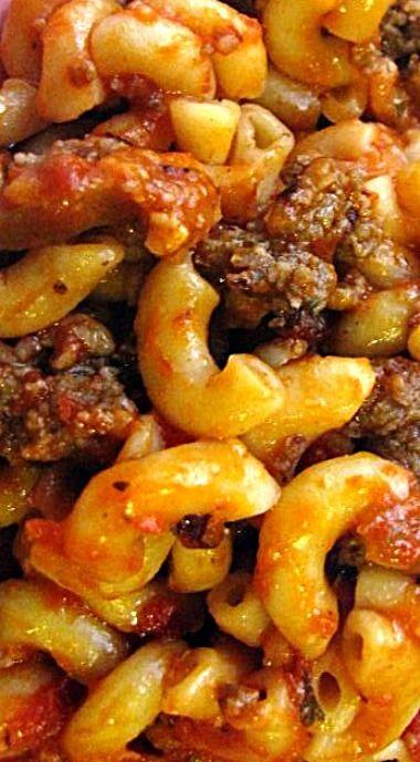 Italian Sausage Casserole Recipe - Food.com