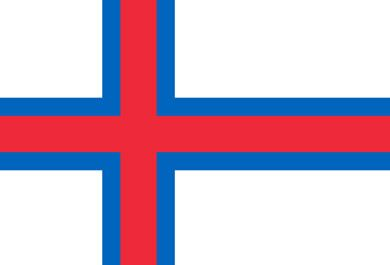 Flag Of Faroe Islands The Flag Of Faroe Islands Is A Horizontal Cross Which Acts As A Symbol Of Christianity Faroe Islands Flags Of The World European Flags