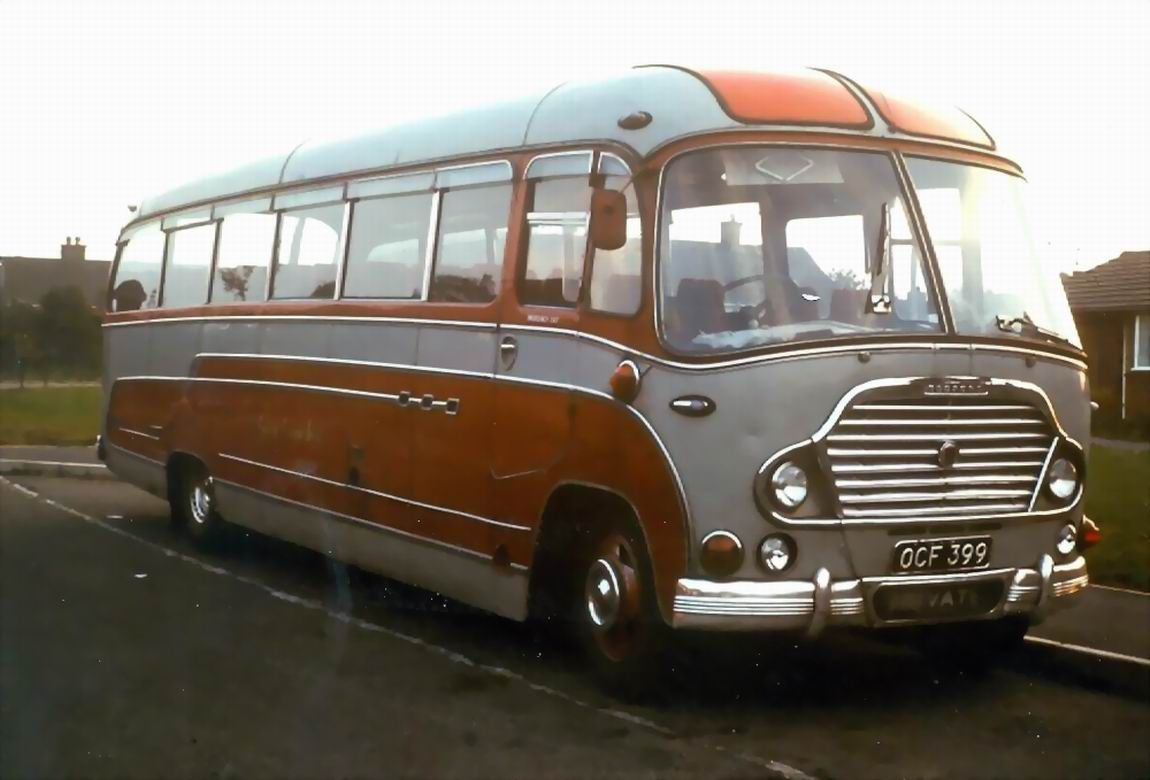 Bedford with Duple C41F body, OCF 399