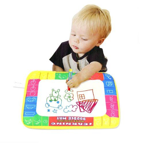 Bestpriceam Tm Water Painting Writing Drawing Mat Board Magic Pen Doodle Toy Gift For Kids Child 29x19cm A Christmas Gifts Toys Kids Doodles Pen Doodles