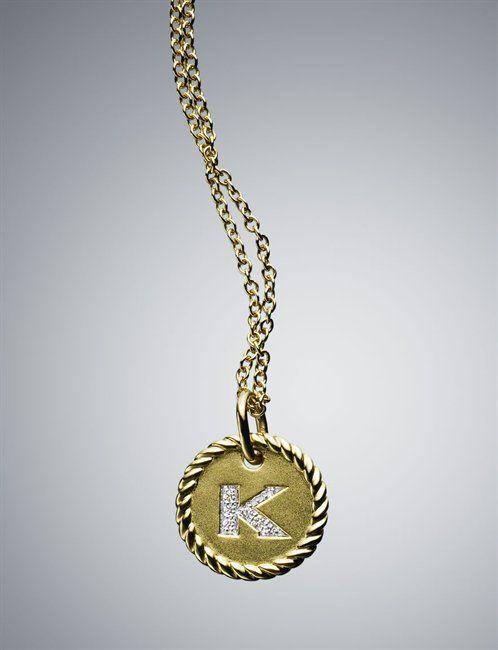 Wish i could give these david yurman initial necklaces as bridesmaid wish i could give these david yurman initial necklaces as bridesmaid gifts so beautiful aloadofball Choice Image