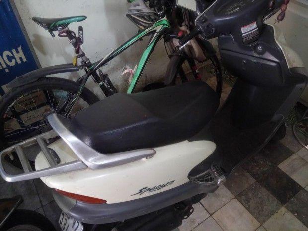 Bán xe máy Honda spacy 125 Nhật zin p.3 Xe spacy 125 Nhật zin 100% k tráo phụ tùng xe còn tốt giá cả có thể thương lượng thêm