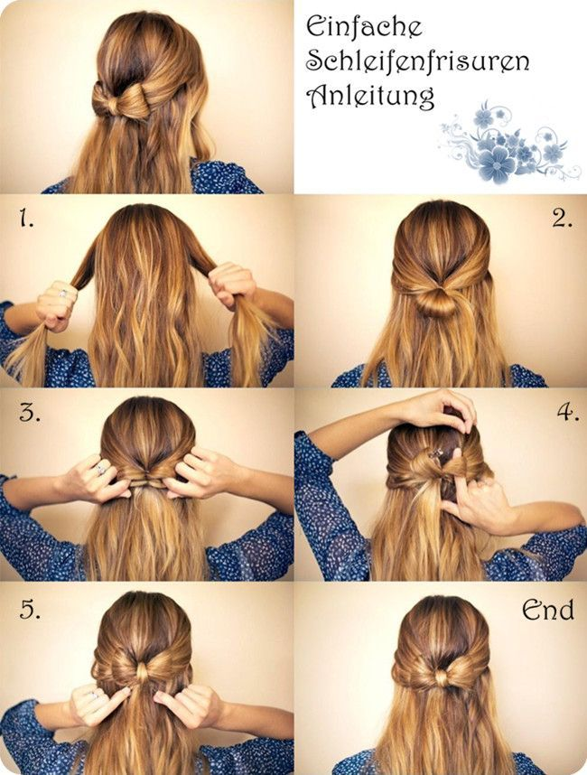 Strandfrisuren lange haare einfach selber machen half bun hairstyles