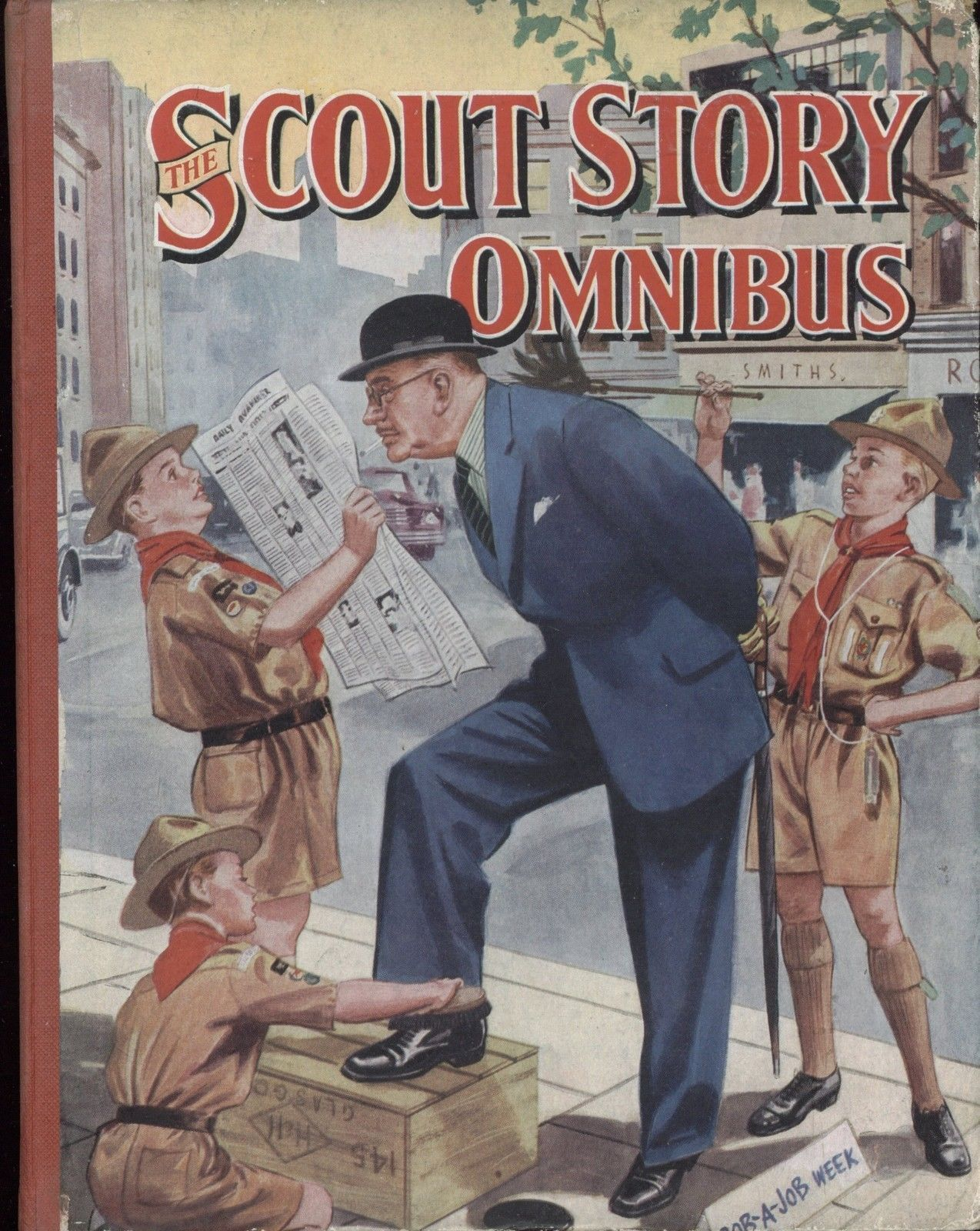 The Scout Story Omnibus Annual