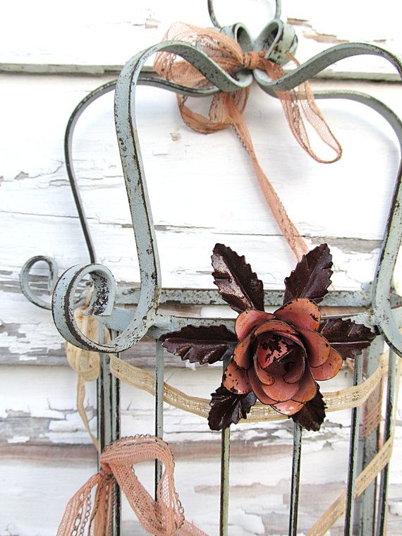SALE!  Was 54, now 35!  Large Wrought Iron Birdcage!