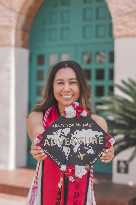Sdsu Class Of 2018 College Graduation Diary With Images Diy