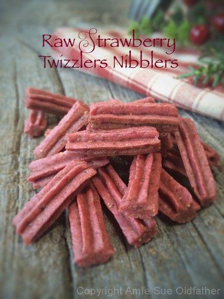 strawberry twizzler snicks food dehydrator recipes raw food recipes dehydrator recipes raw food recipes