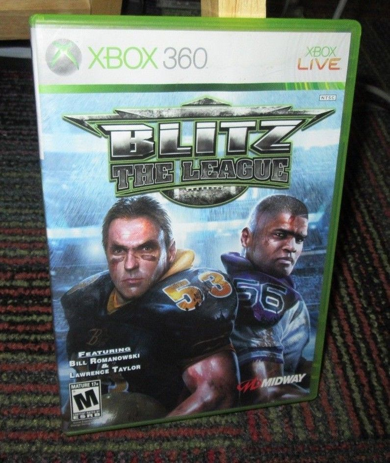 BLITZ THE LEAGUE GAME F/ MICROSOFT XBOX 360, BILL