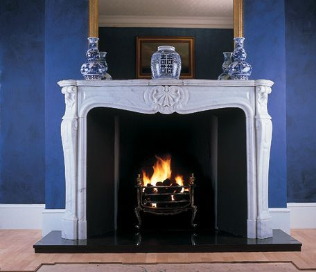 louis style fire surround - Google Search