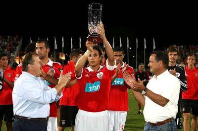 Torneio do Guadiana içado pelo capitão Nuno Gomes