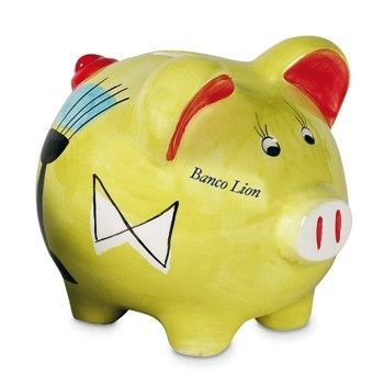 Farbenfrohes Keramiksparschwein.Diesen Artikel können wir auf Ihren Wunsch bedrucken. Einen Kostenvoranschlag können…