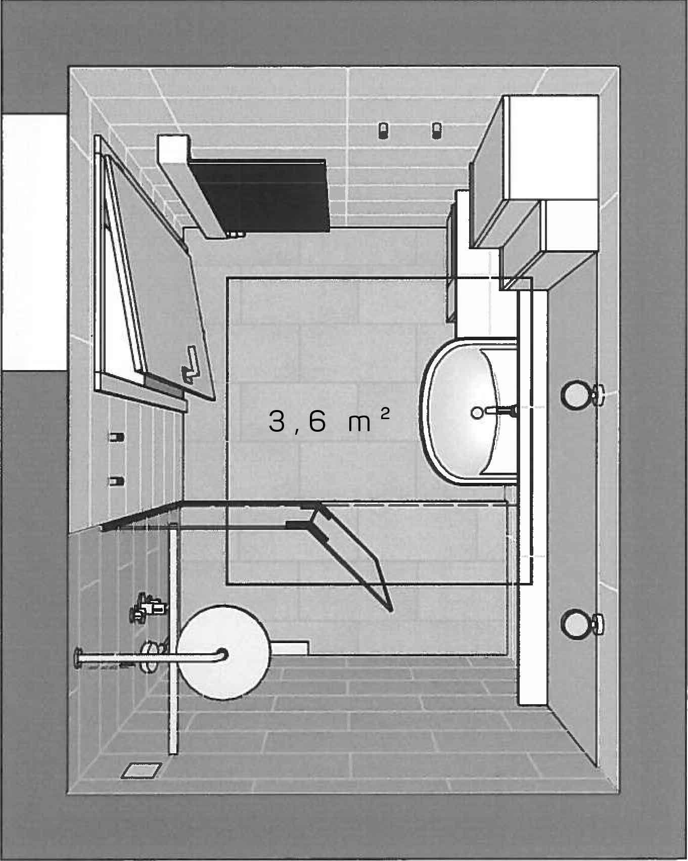 Reduziertes Design im Bad | Begehbare dusche, Waschbecken ...