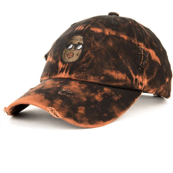 Entree LS Biggie Vintage Bleach Distressed Dad Hat ($25) ❤ liked on Polyvore featuring men's fashion, men's accessories, men's hats, vintage mens accessories, vintage mens hats and mens caps and hats