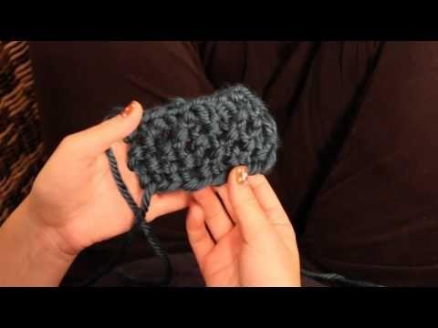 DIY* Schal und Stirnband stricken - Schlauchschal - Loop - snood ...