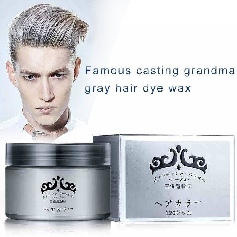 Unisex Silver Ash Hair Wax From Japan Design Pinterest Silver