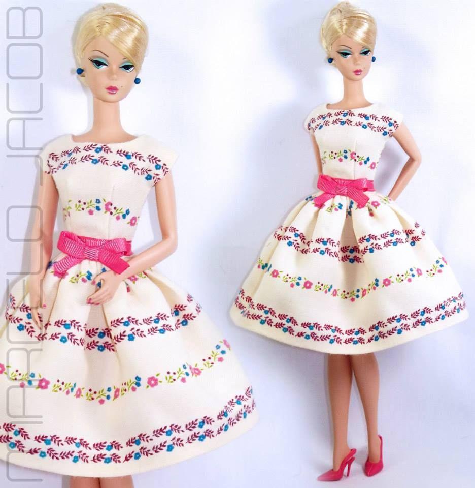 Silkstone Barbie in Marcelo Jacob Outfit | Barbie vestidos ...
