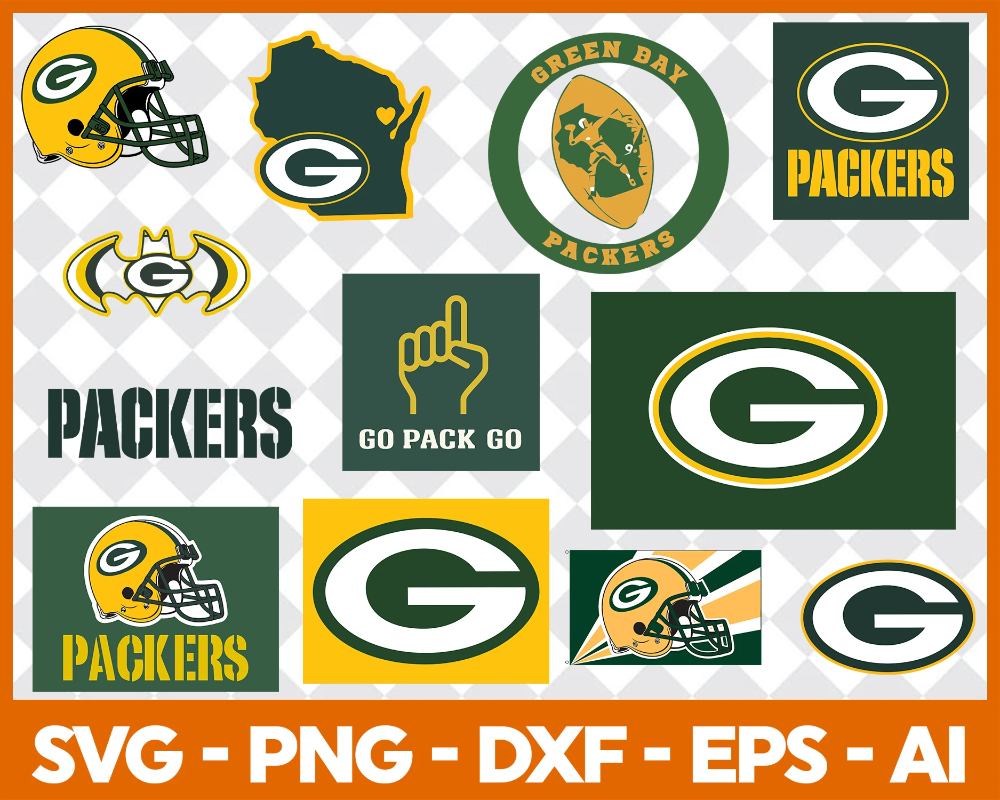 Green Bay Packers Svg Svg Files For Silhouette Files For Cricut Svg Dxf Eps Png Instant Download In 2020 Green Bay Packers Green Bay Packers Shirts Football Logo