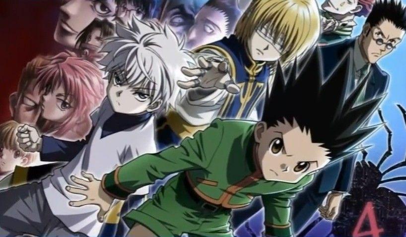 القناص جون كيلوا كورابيكا يوريو هانتر كارتون Hxh Hunter الصداقة ذكريات Favorite النمل Hunter X Hunter Art Anime