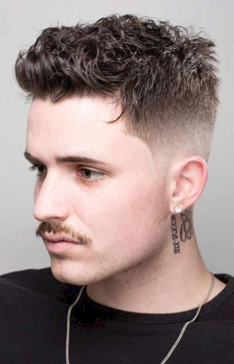 42++ How to style short curly hair men ideas