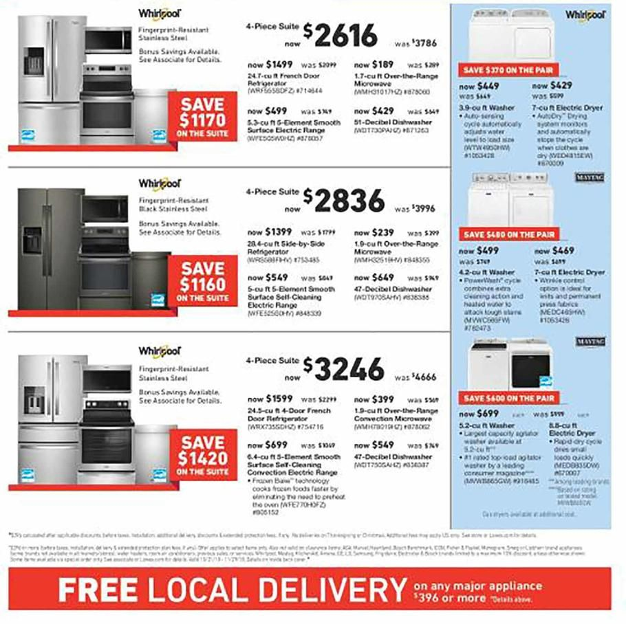 Lowe S Pre Black Friday 2018 Ads Scan Deals And Sales See The Lowe S Pre Black Friday Ad 2018 At 101blackfriday Pre Black Friday Black Friday Black Friday Ads