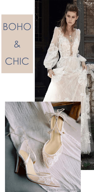 Ivory Lace Wedding Shoes Wedding Dresses Enchanted Bridal Boho