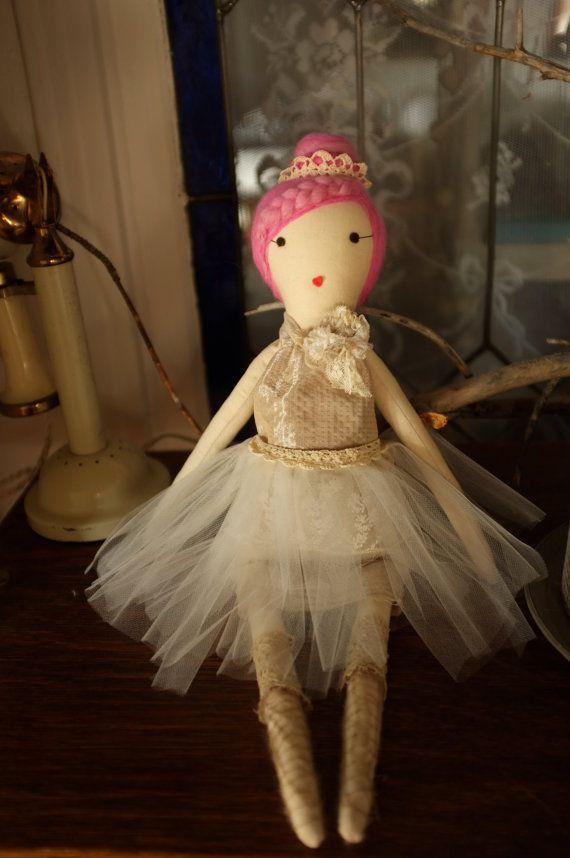 No muñecas de trapo hechos a mano por Gaiia Kim muñeca de