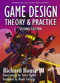 Game Design Theory & Practice 2nd Edition Design theory