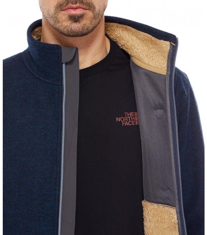 The North Face® Men's Zermatt Full Zip is a smart fleece