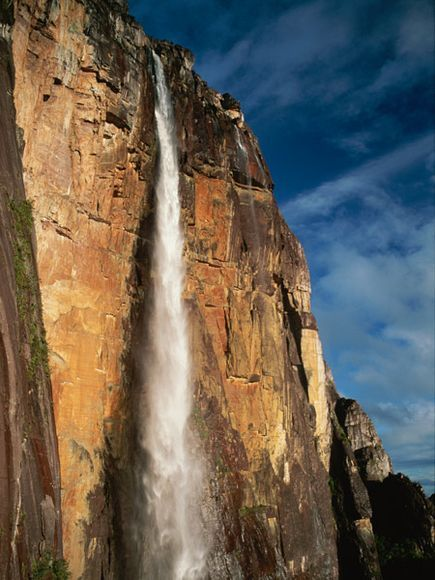 Angel Falls, Venezuela. the inspiration for the name of ...