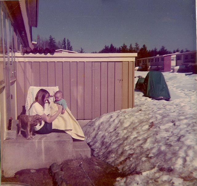 K.I. Sawyer AFB winter (now shut down)