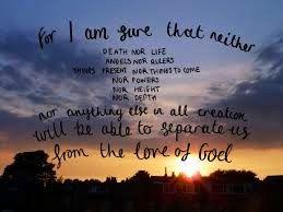Romans 8, 37-39