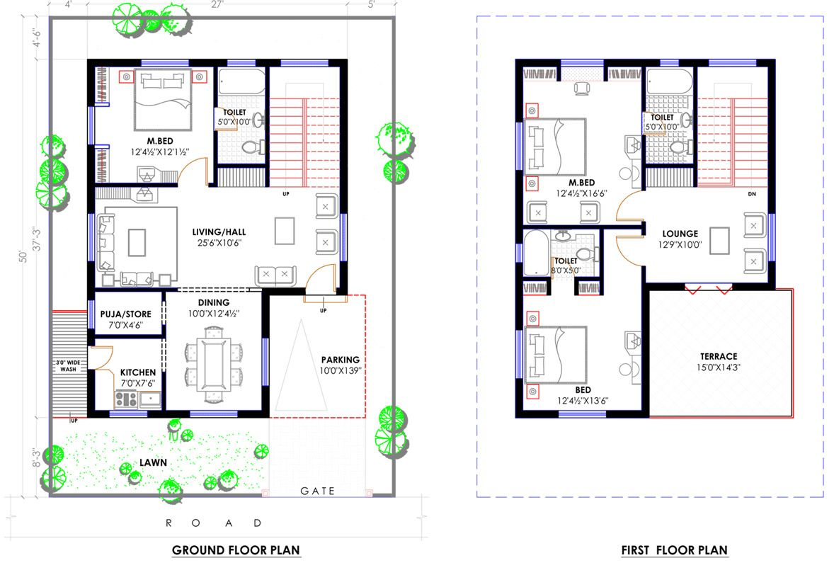 Pin By Akshay Chaudhary On House Plannings 30x40 House Plans Model House Plan Floor Plans