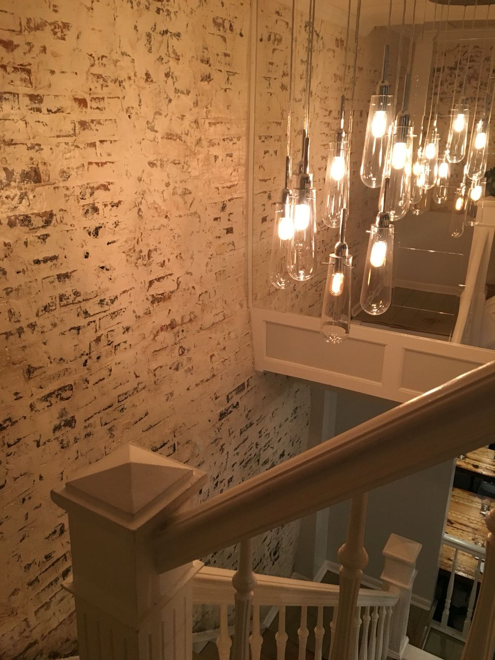 Greenwich Project, NYC. Ceiling lights
