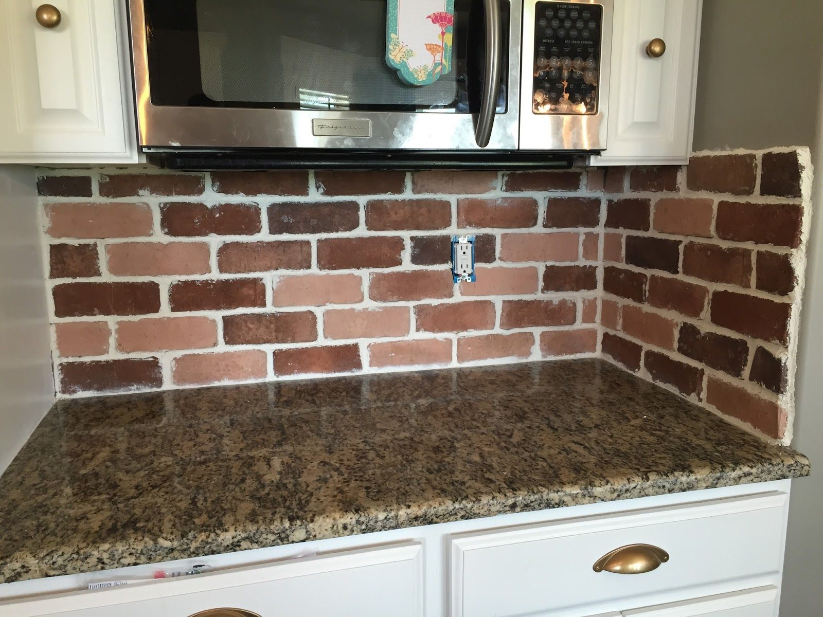 Do It Yourself Brick Veneer Backsplash Everything House